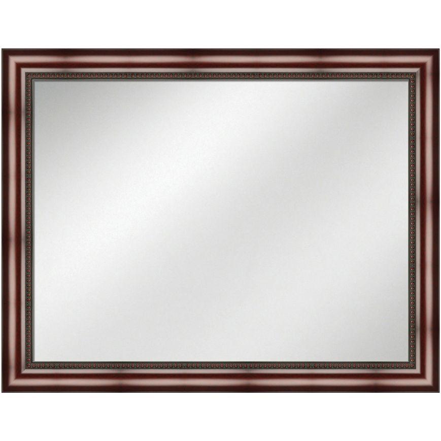 Vanity Mirror Mahogany Frame 36 x 48