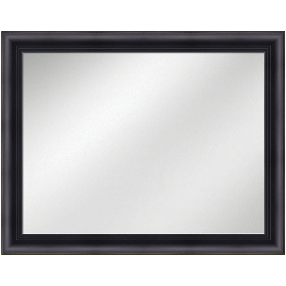 Vanity Mirror Black Frame 36 x 48