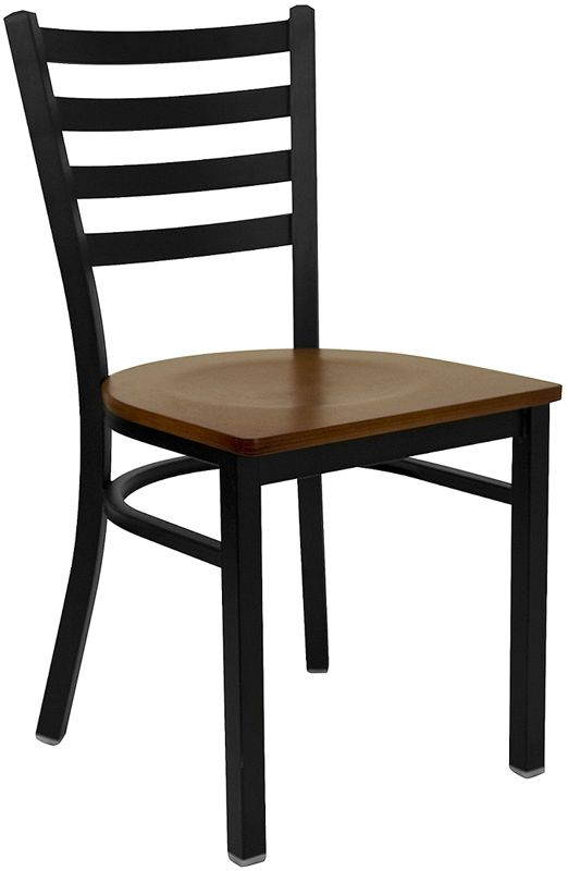 Restaurant Chair - Cherry Wood Seat