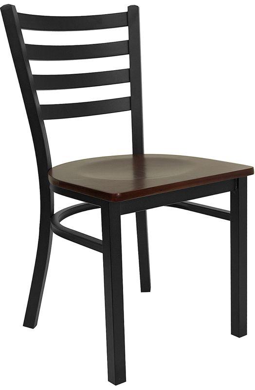 Restaurant Chair - Mahogany Wood Seat