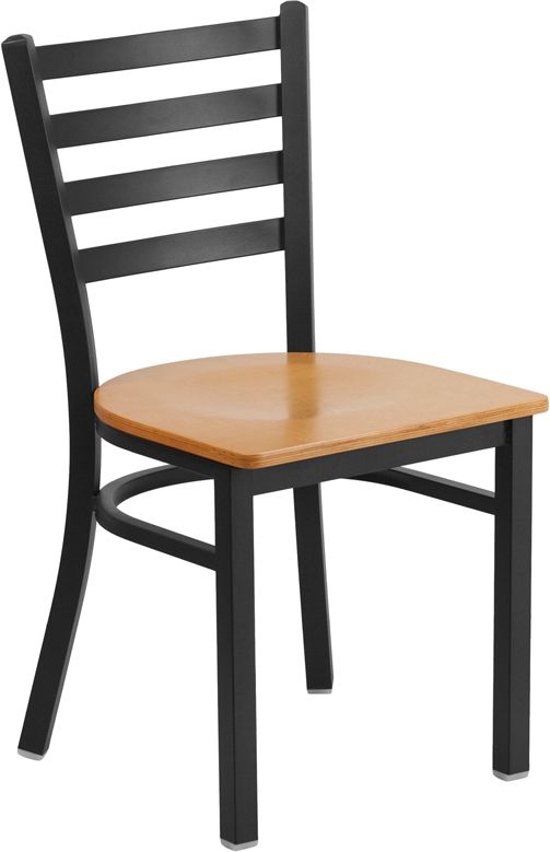 Restaurant Chair - Natural Wood Seat