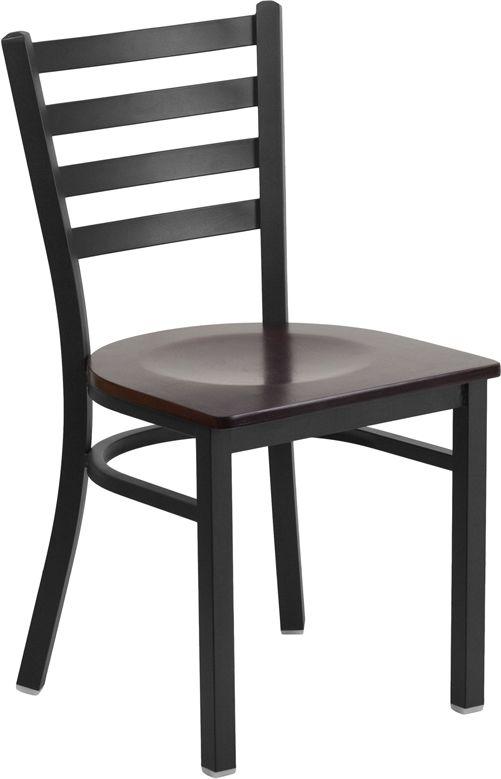 Restaurant Chair - Walnut Wood Seat