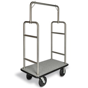 Heavy Duty / 25 Stainless Bellman's Cart
