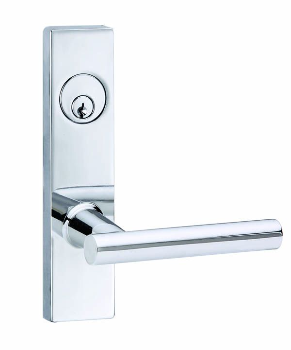 Residential Mortise Leverset — Polished Chrome