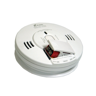 Battery Operated Combination Carbon Monoxide & Photoelectric Smoke Alarm KN-COPE-D