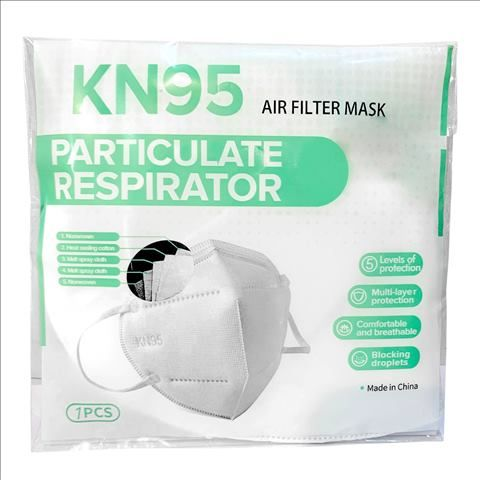 Multi-Layer Protection Air Filter Mask 1-Piece
