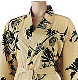 Black or Tan Microfiber Robe