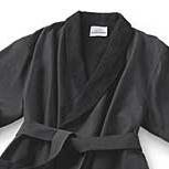 Black Microfiber Robe