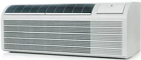 9,400 BTU Packaged Terminal Air Conditioner with 8,300 BTU Heat Pump, 3.0 kW Electric Heat Backup, 12.1 EER, 2.1 Pts/Hr Dehumidification and 230/208 Volts