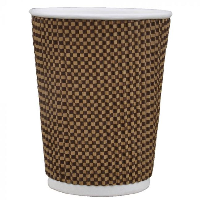 WX9 Diamond rippled Coffee Cup 9 oz by Pavy