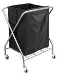 Laundry Hamper Replacement Bag, Black
