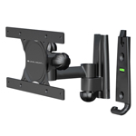 """Universal Full Motion: Pan, Tilt, Extend 6.5"""" Fits upto 30"""" TV's and 60 lbs TV Mounts"""