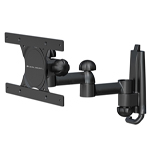 """Universal Full Motion: Pan,Tilt, Extend 10.5"""" Fits upto 30"""" TV's and 60 lbs TV Mounts"""