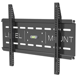 """Universal Low Profile: Fixed Position Fits 26"""" to 50"""" TV's and 200lbs TV Mounts"""