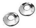 Rod Flange - Polished Chrome