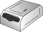 Multi Fold Tissue Holder - Stainless Steel