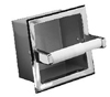 Recessed Extra Paper Roll Holder - Polished Chrome
