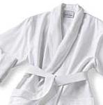 White Micro Robe