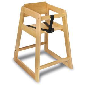 Economy Plus Wood High Chair