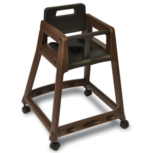 850 Plastic High Chair with Casters