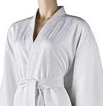 Satin Stripe Kimono