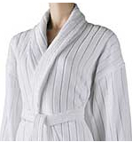 Velour Stripe Robe